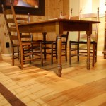Wide Width Character Appalachian Maple Flooring